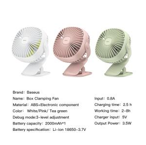 Quạt Baseus Clamping Fan (2 - 5 tiếng dùng liên tục)